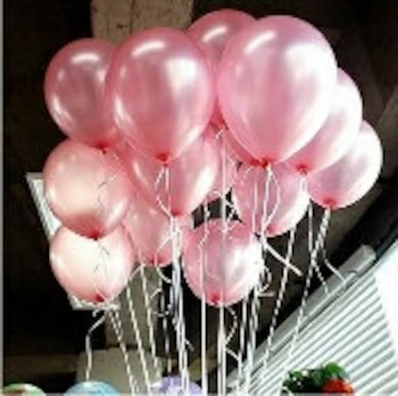 Pink Balloons Pearl Pretty
