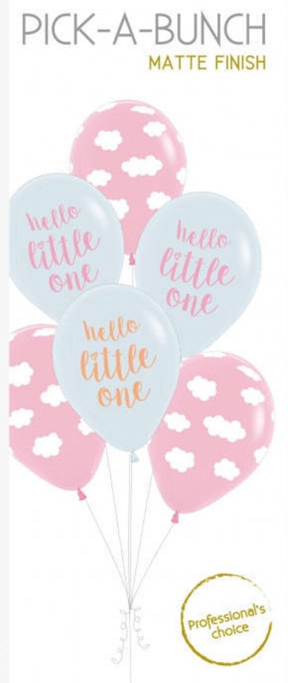 BABY SHOWER WORDING BABY SHOWER PINK BALLOONS