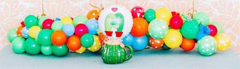 Balloon Decoration Mexican DIY DIY Mini Balloon Garland Balloons Fiesta Balloon Garland Mexican Party