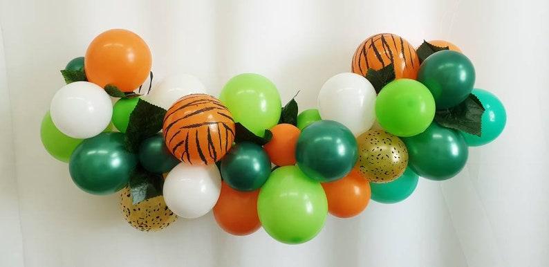 Diy Mini Jungle Balloon Garland Balloon Vine Balloon Decor Etsy