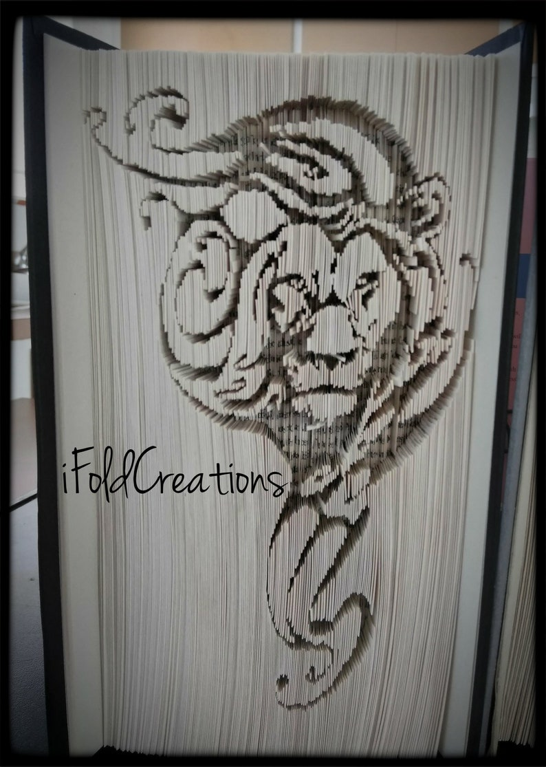 Lion Mark Measure 429 pages Book Folding Pattern Cut and Fold