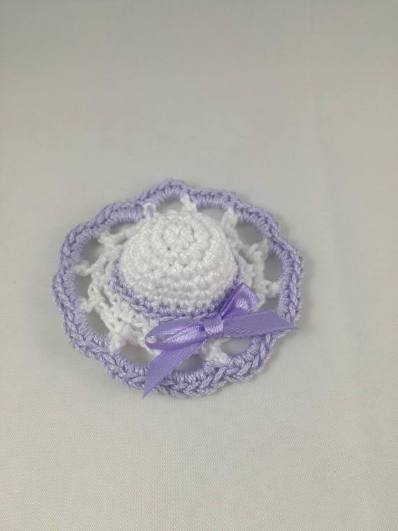 Hat Crochet Wedding Favor Placeholders Etsy