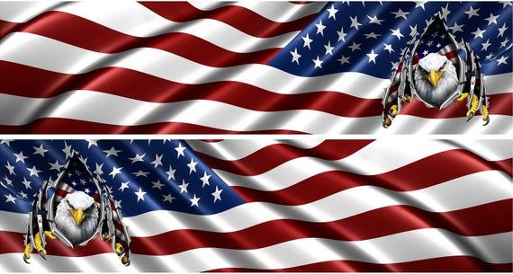 American Flag Race Car Wraps Race Car Numbers Race Car