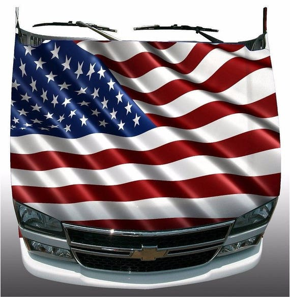 2-SET American Flag Boat Car Truck Graphic Decals motorcycle Stickers Wrap