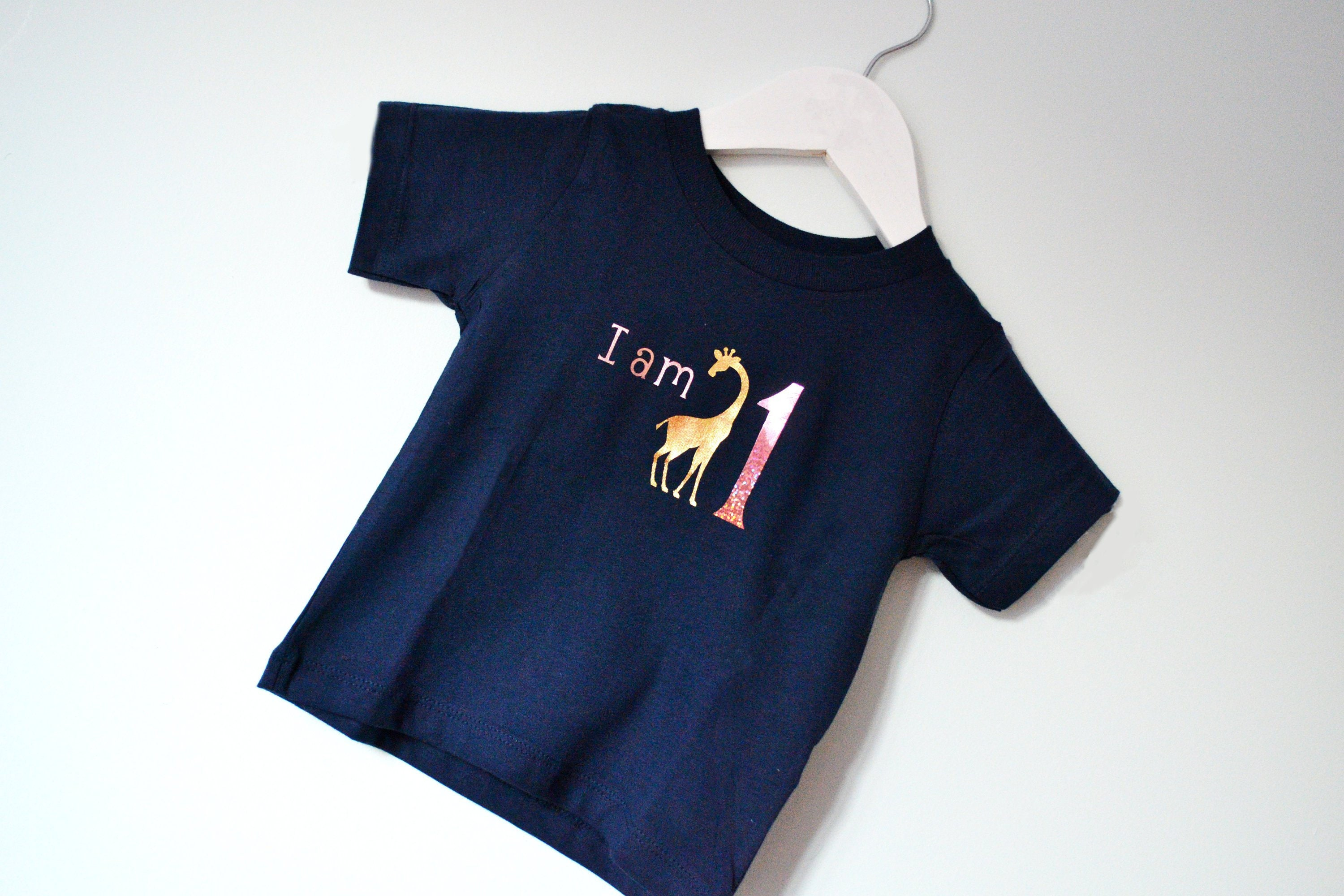 I Am 1 First Birthday Outfit 1st Shirt