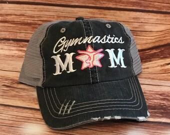 efa195d9b0 Gymnast  Gymnastics Mom  Gymnastic Mom Hat  Gifts for mom  Gifts for her   Momlife  Cartwheel  Gymnast Mom  Mom hair  Dont care  Trucker hair