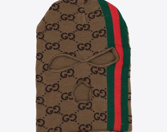 a493969cd94 Gucci GG Monogram Ski Mask Hat Beanie