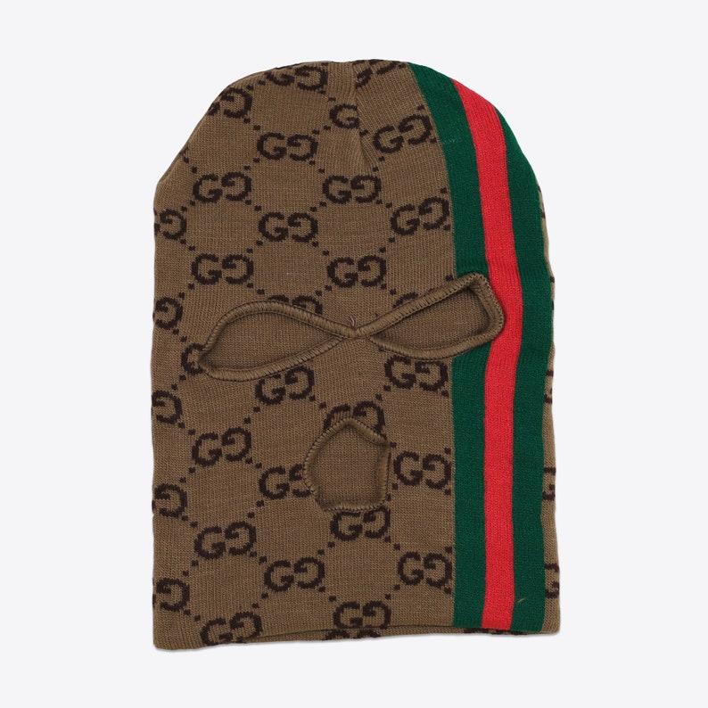 10e13e0a7c3c Gucci GG Monogram Ski Mask Hat Beanie