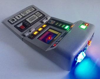 Star Trek Playmates Science Tricorder Upgrade Electronics Kit!