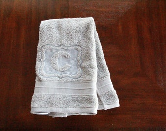 Set of 3 Custom Embroidered Hand Towels