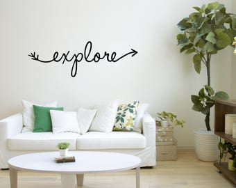 Explore Wall Decal, Wall Art, Wall Decals, Wall Vinyl Sticker, Cool Wall  Decal, Adorable Stickers, Wall Decal Nursery, Wall Art Print, 16