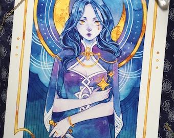 Moon tarot - A4
