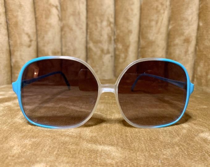 Vintage 70's Turquoise Primetta Sunglasses