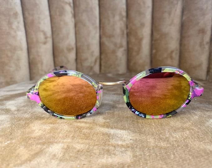 Vintage 80's Carrera Multicolor Sunjet Sunglasses