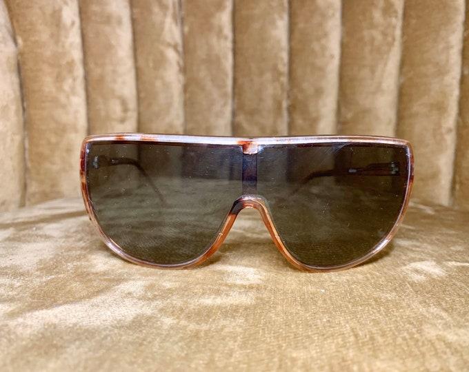 Vintage 80's Cool Ray Tortoise Shell Aviator Sunglasses