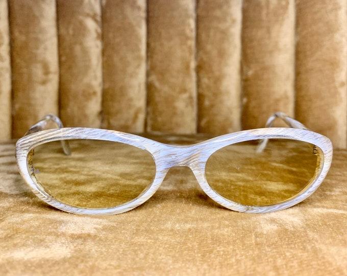 Vintage 90's NOS Giorgio Armani Silver and Gold Sunglasses