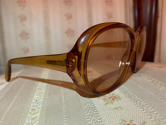 Vintage 70's Marwitz Round Brown Aviator Sunglasses