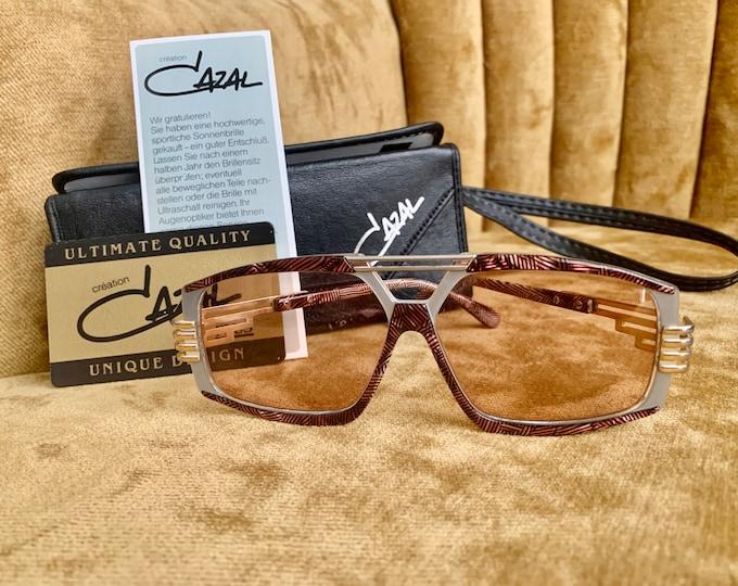 Vintage 80's Cazal Abalone Pattern Sunglasses