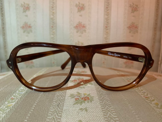 Vintage 70's Regency Eyewear Dark Brown Glasses Frames