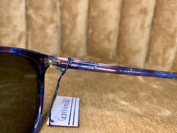 Vintage 80's NOS Gianni Versace Royal Blue Sungla… - image 4