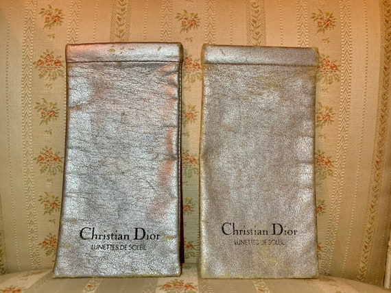 Vintage Christian Dior Eyewear Cases (Set of 2)