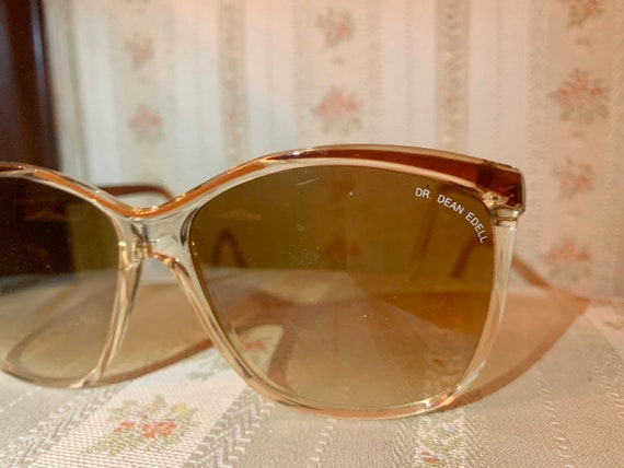 Vintage 80's Brown and Bronze Dr. Dean Edell Sunglasses