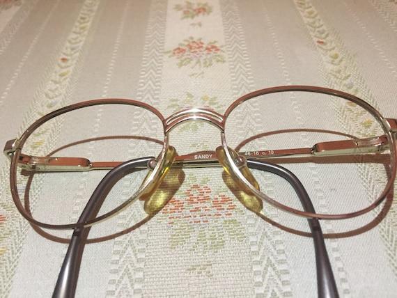 Vintage 80's Children's Gold Glasses/Frames by Grand Italia