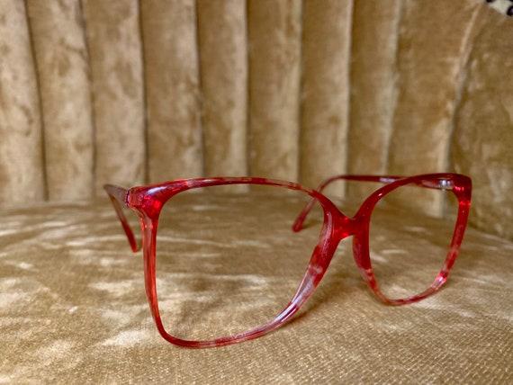 Vintage 80's Anne Klein Red Glasses/Frames