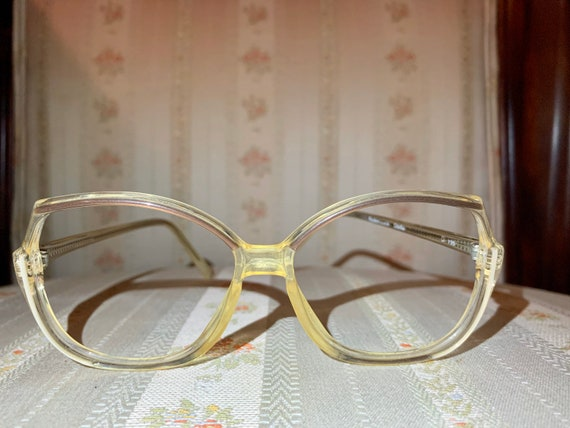 Vintage 70's Rodenstock Brown and Gold Acetate Glasses/Frames