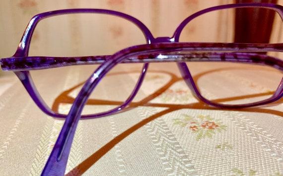 Vintage 80's Rodenstock Purple/Blue Tortoise Glasses/Frames