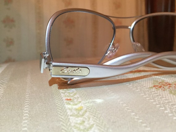 Vintage 90's Silver Cycle Sunglasses