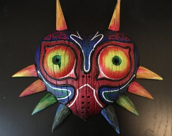 The Legend of Zelda Majoras Mask Replica Deco Art UV Blacklight