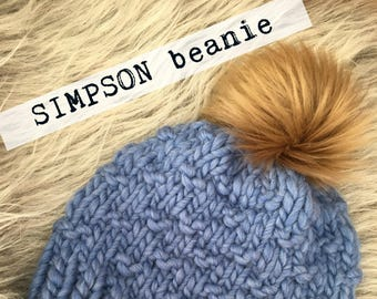 The SIMPSON Beanie (KNIT PATTERN)
