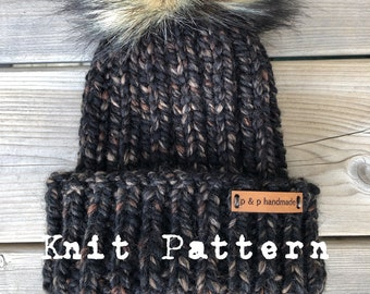 The KIRKLAND Toque - KNIT PATTERN