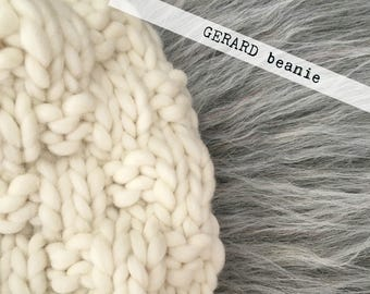 The GERARD Beanie (KNIT PATTERN)