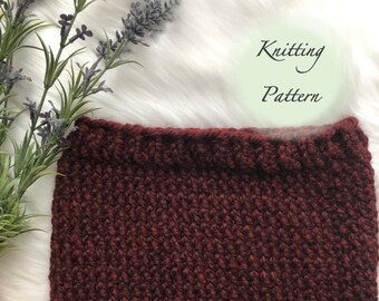 The SHERBROOKE Cowl - KNIT PATTERN
