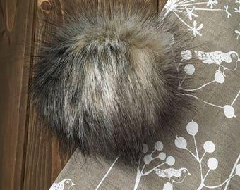 Bobcat Faux Fur Pom