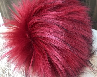 Ruby Faux Fur Pom