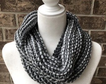 The SEAFORTH Cowl - Charcoal/Silver