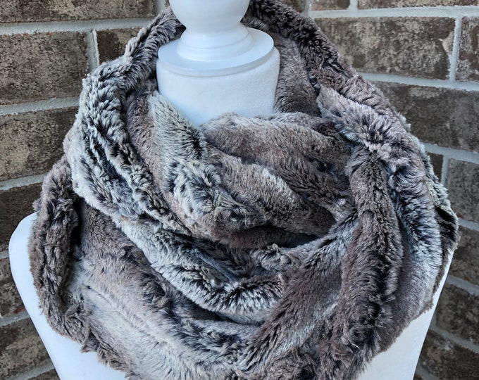 The LUXE Minky Cuddle Infinity Scarf