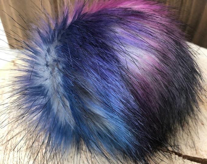 Galaxy Faux Fur Pom