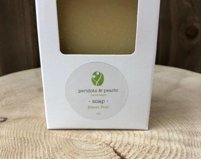 Sweet Pear Vegan Handmade Bar Soap