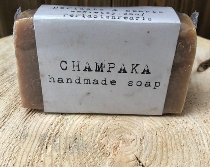 Champaka Vegan Handmade Bar Soap