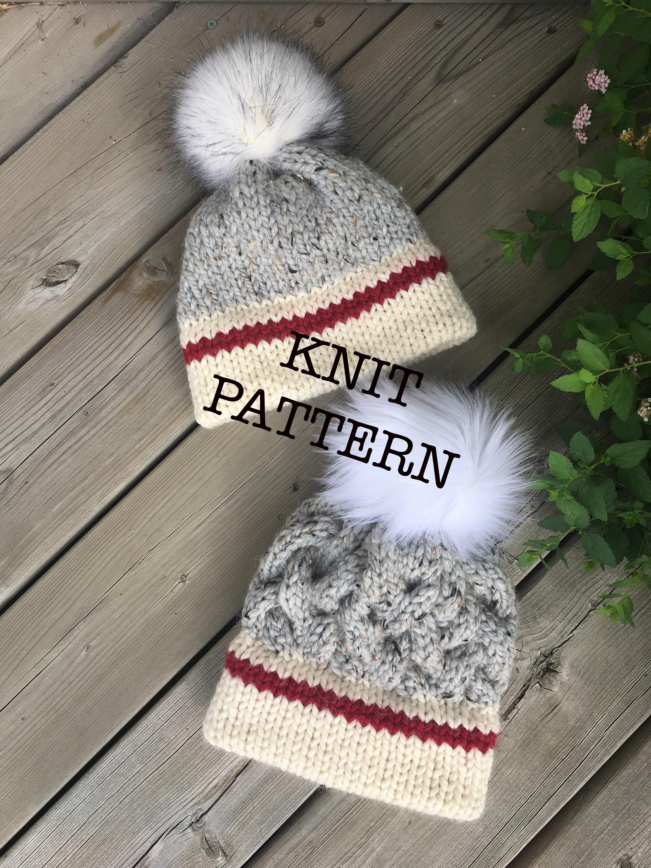 The CHUNKY MONKEY Sock Monkey Hat - KNIT Pattern eb1139e4cb79