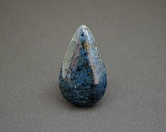 Rhodusite natural stone cabochon  38 x 22 x 5 mm
