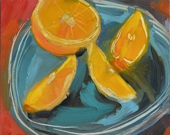 Oranges,6x6