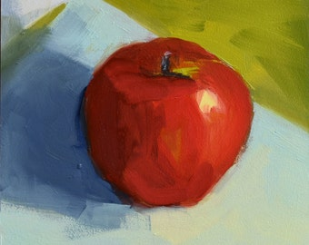 One Red Apple, 6x6