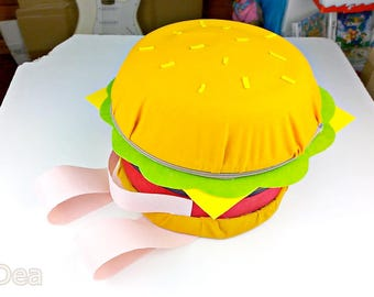 Steven Universe Hamburger Backpack-Cheeseburger backpack