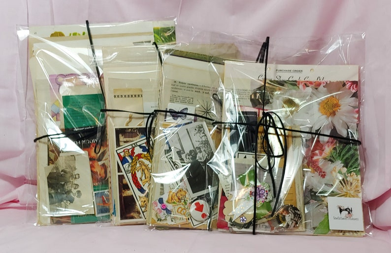 ephemera pack; DIY; vintage paper; antique paper Old book pages minimum 50 PCS for junk journals; scrapbooking; smashbooks and more