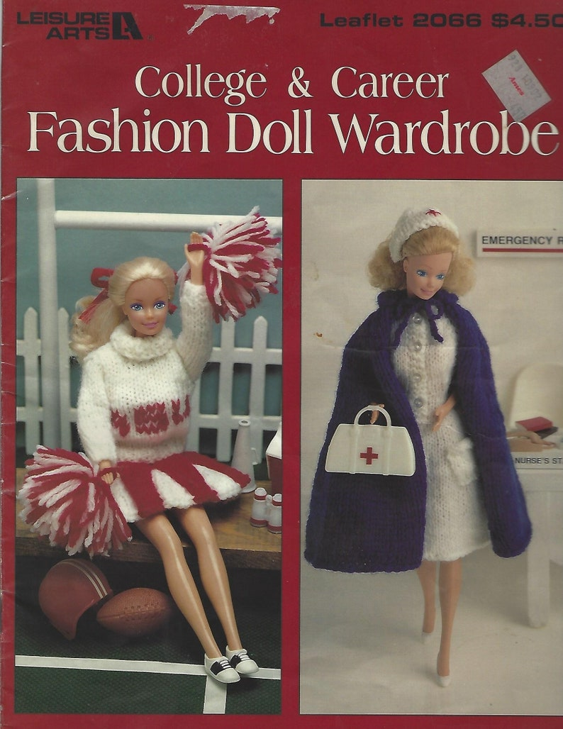 BARBIE Exclusive FASHIONS BOOKLET 4 VINTAGE Reproduction